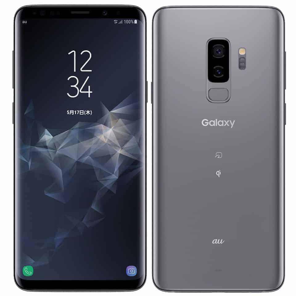 三星 Galaxy S9 Plus 灰色 圖片