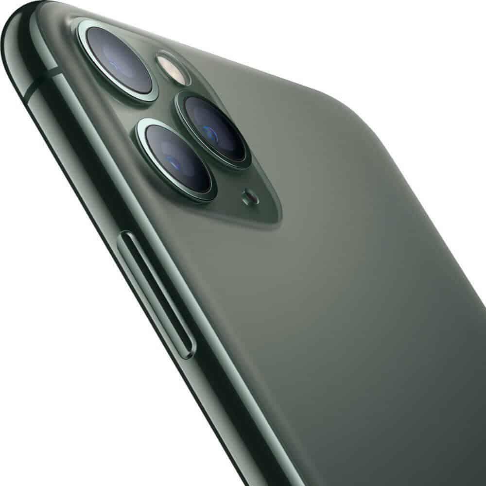 蘋果 iPhone11 Pro 午夜綠 側 圖片