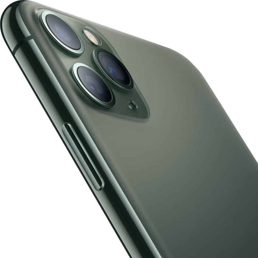 iPhone11 Pro MidnightGreen Side 19