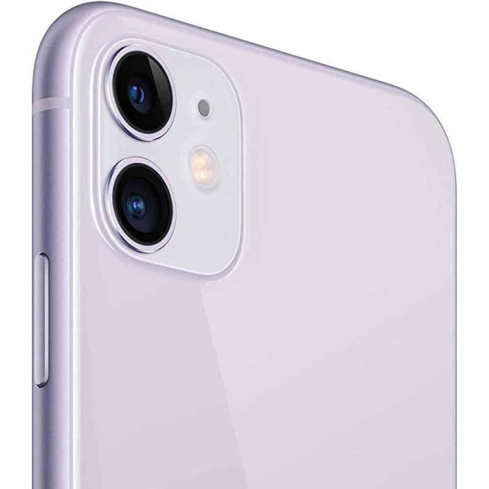 蘋果 iPhone11-紫色 側面 圖片