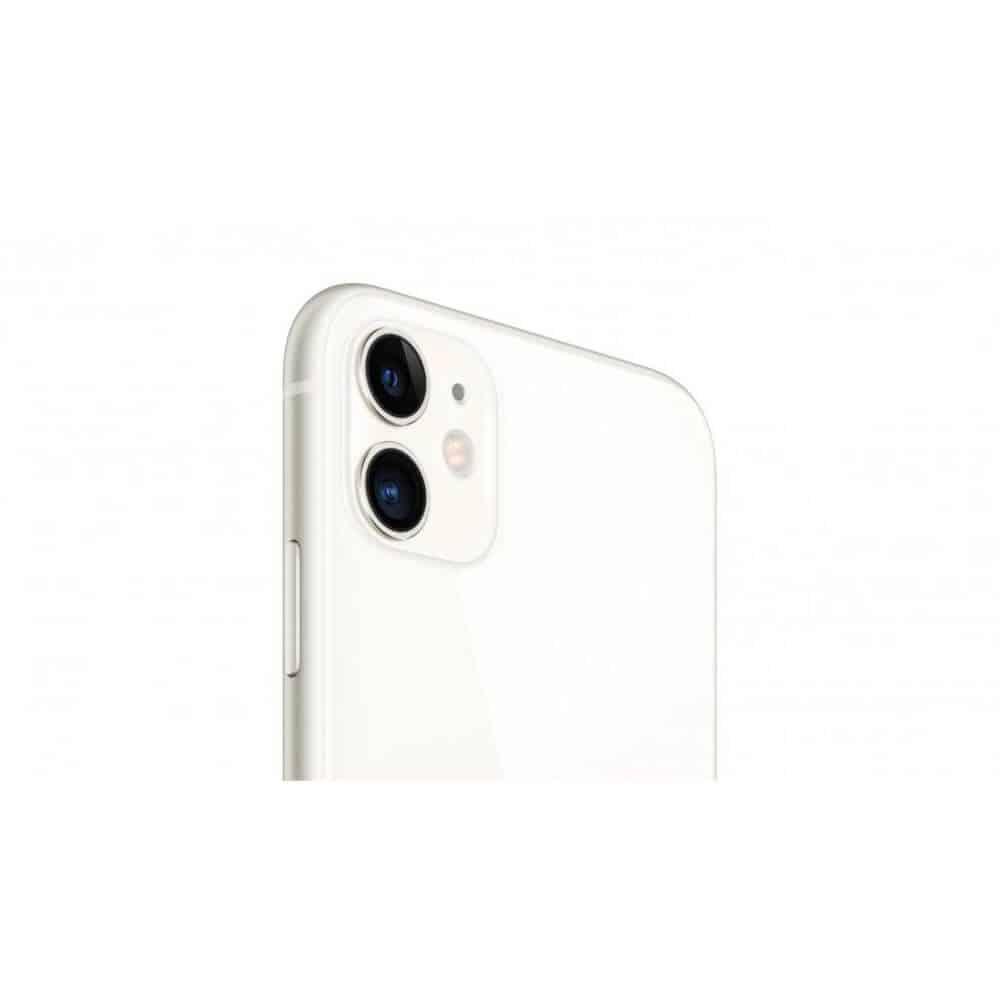 蘋果 iPhone11 白色 側面 圖片