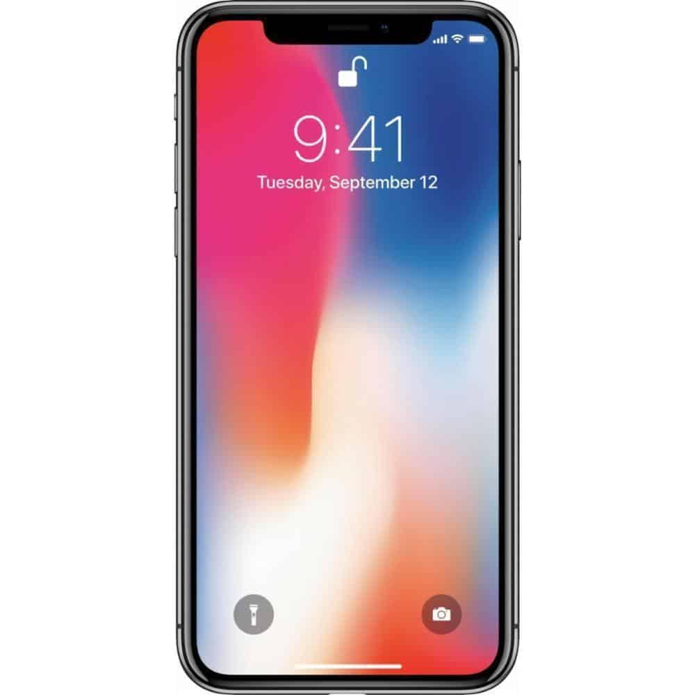 iphone-X-太空灰