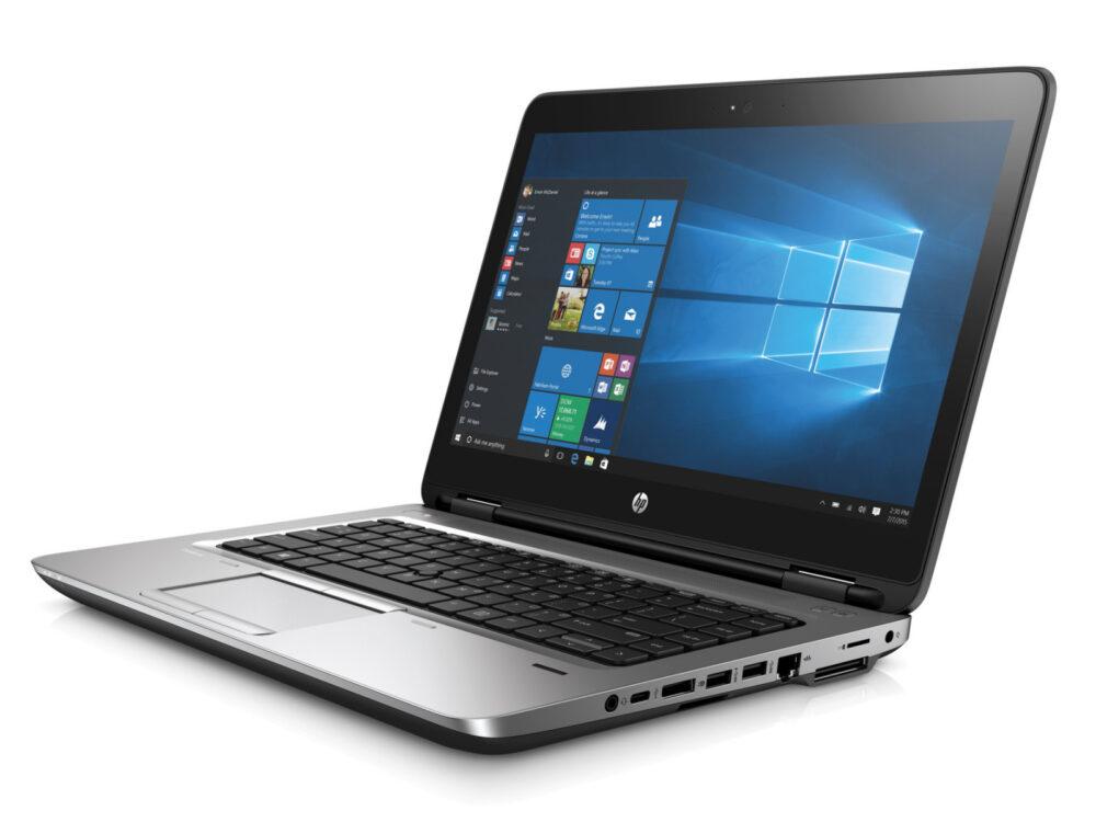 HP PROBOOK 640 G3 i5 7th 14 inch 8gb ram 256gb ssd microsoft certified refurbished laptop