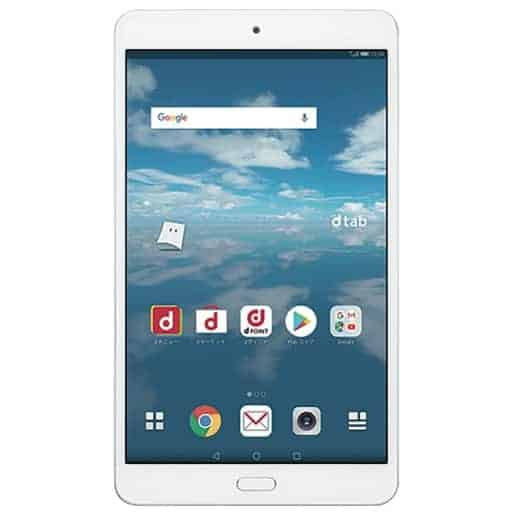 Image of HUAWEI-dtab-Compact-d-02K-32GB-Silver