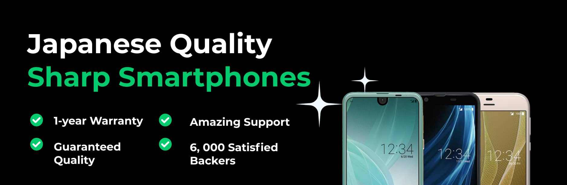Japanese Quality Sharp Smartphones