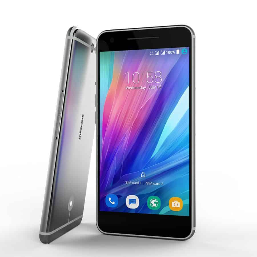 inFocus m812 front view with side view
