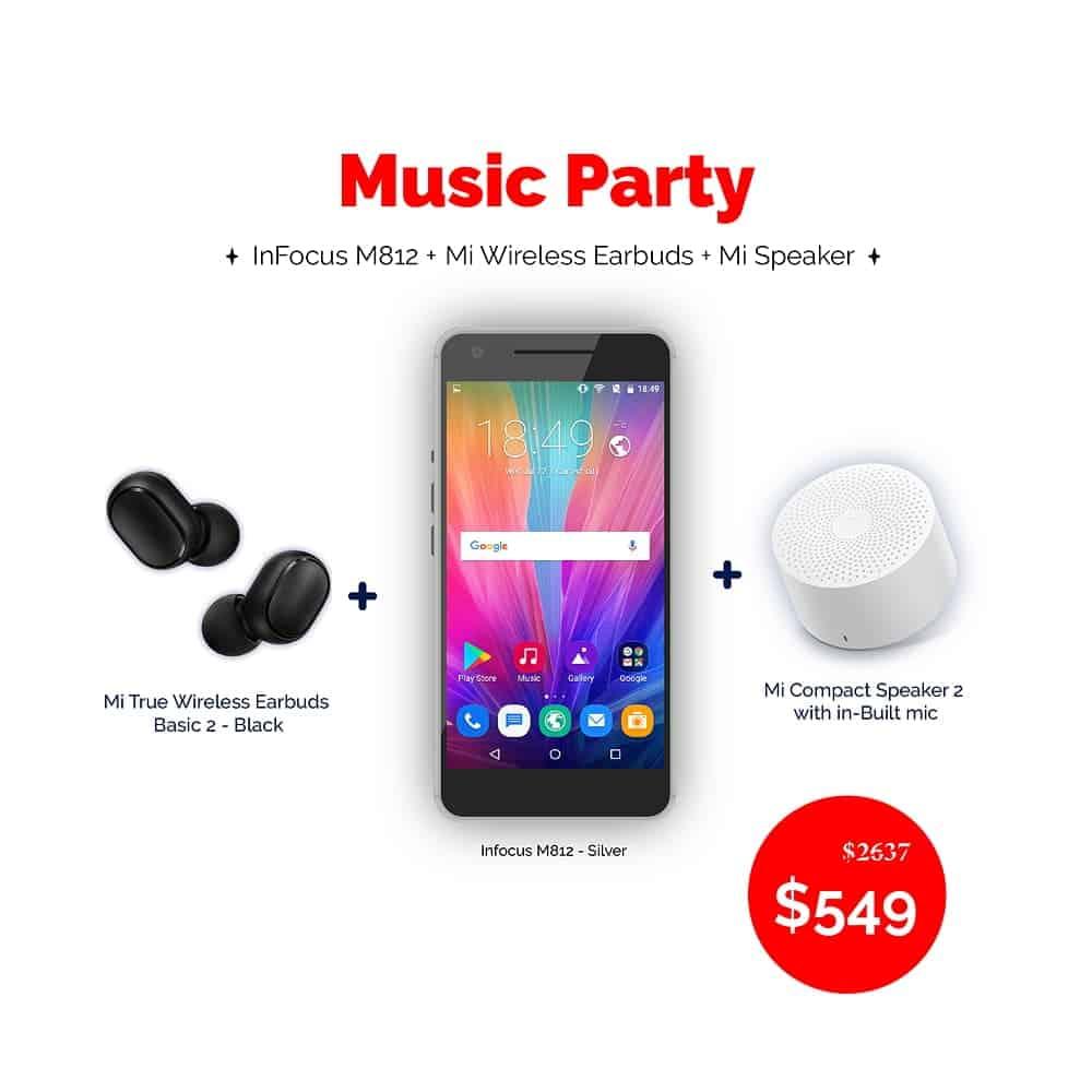 Ola Tech Music Party Bundle