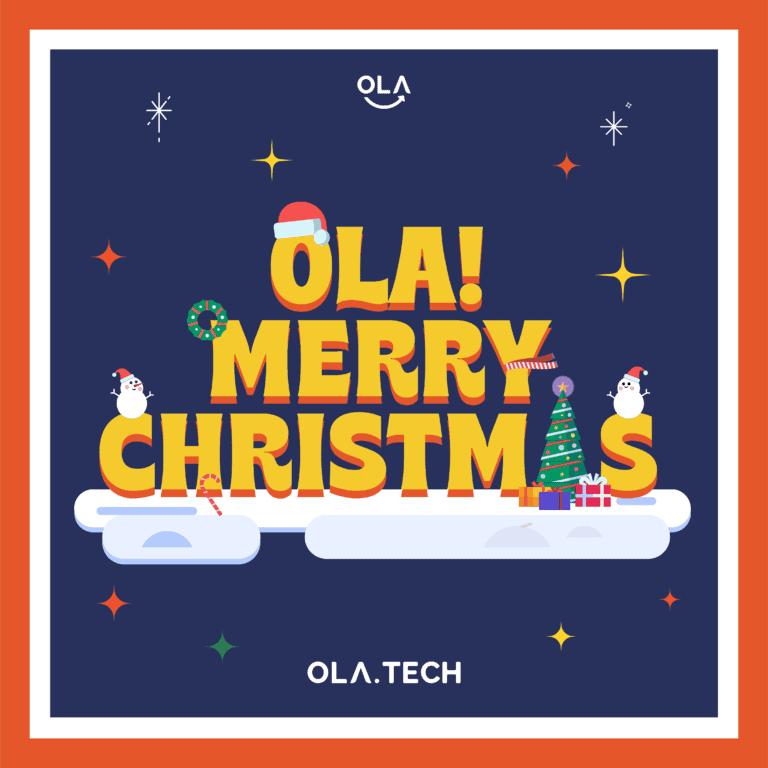 Ola Tech Christmas Greetings 2020