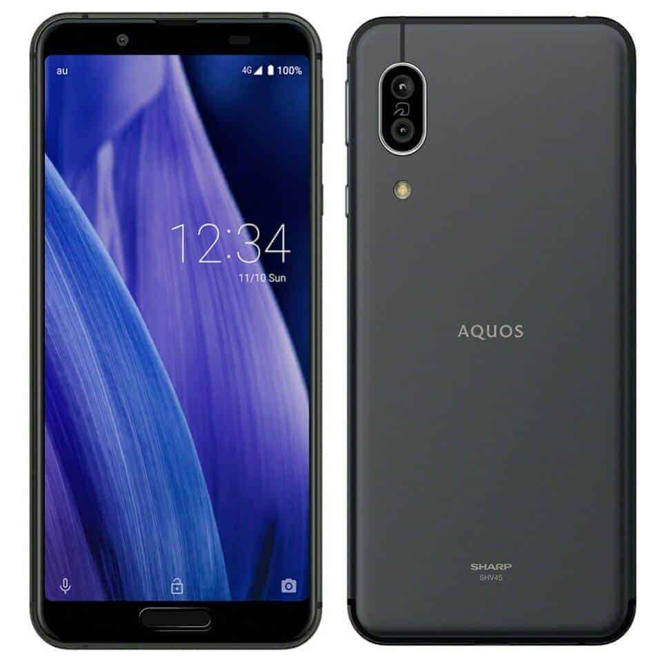 Image of Sharp AQUOS sense 3 64GB black