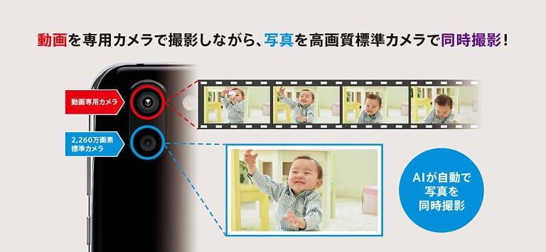 Sharp Aquos R2 SHV42 AI Camera