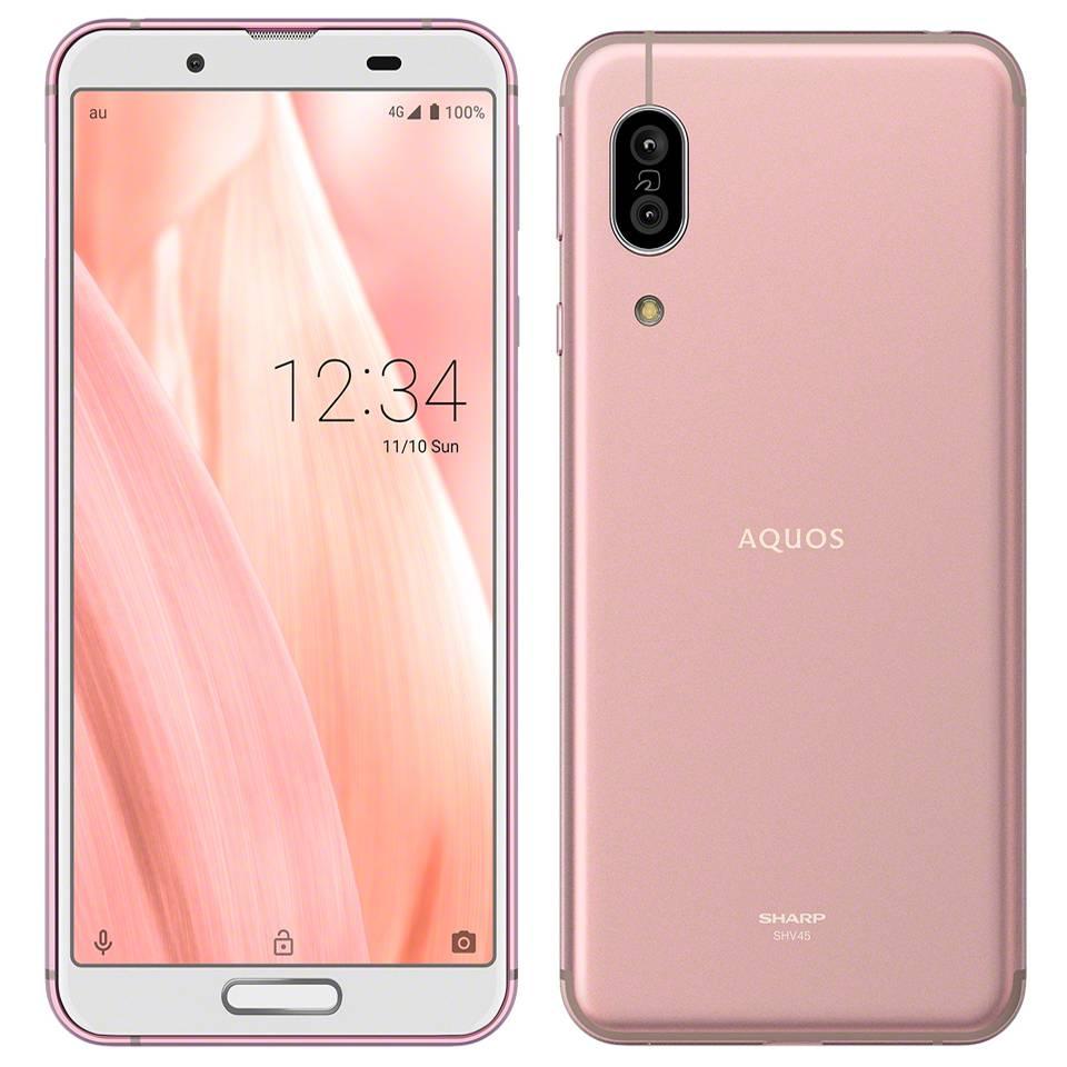 Sharp AQUOS sense 3 SHV45 64GB - 粉紅色