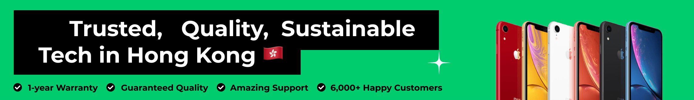 Trusted Quality Sustainable Tech in Hong Kong
