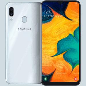 三星 Galaxy A30 白色 圖片