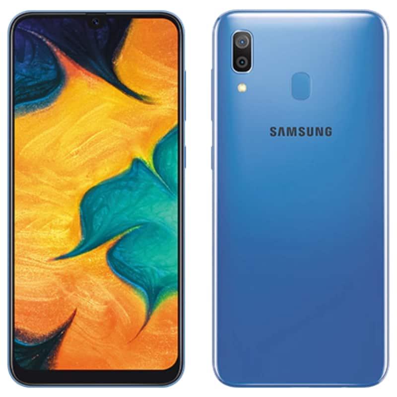 samsung a30-藍色圖片