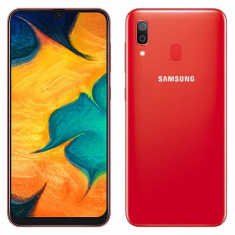 Samsung Galaxy A30 64GB - Red