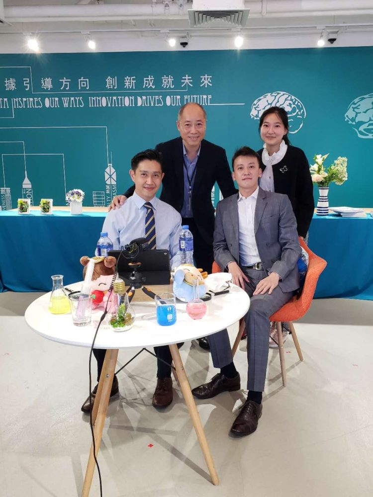Ola Tech's Employee's at the Chow Tai Fook Headquarters post the talk on Circular Economy
