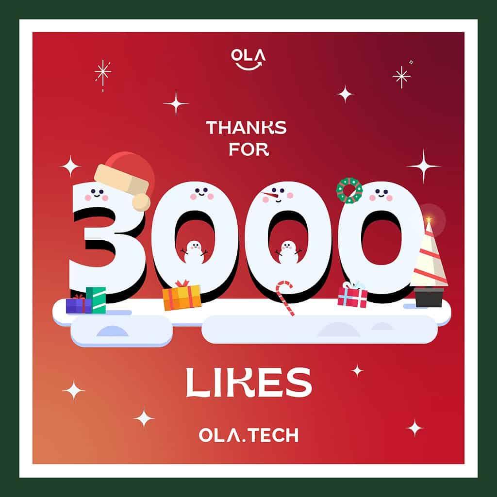 Facebook 3000 Likes
