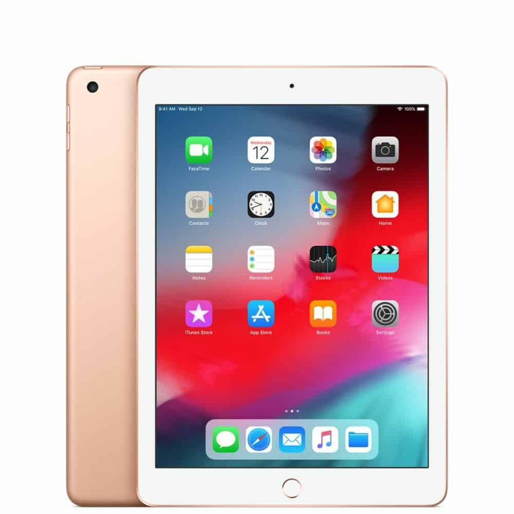 apple ipad-gold-2018 image