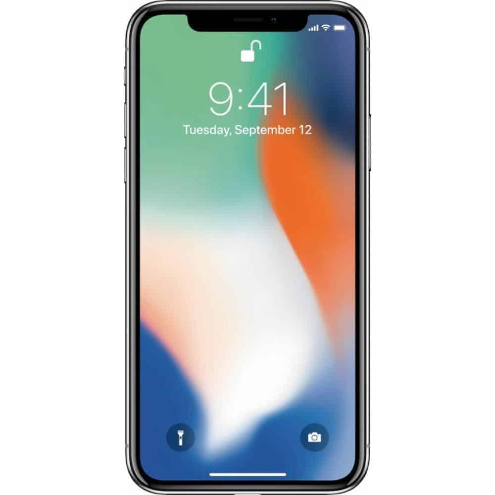 iphone X silver 2017 1 1