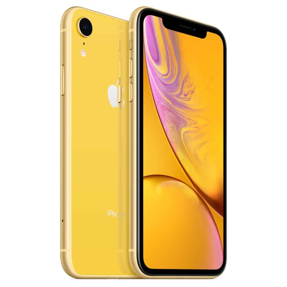 iphone xr 64 GB 黃色圖片