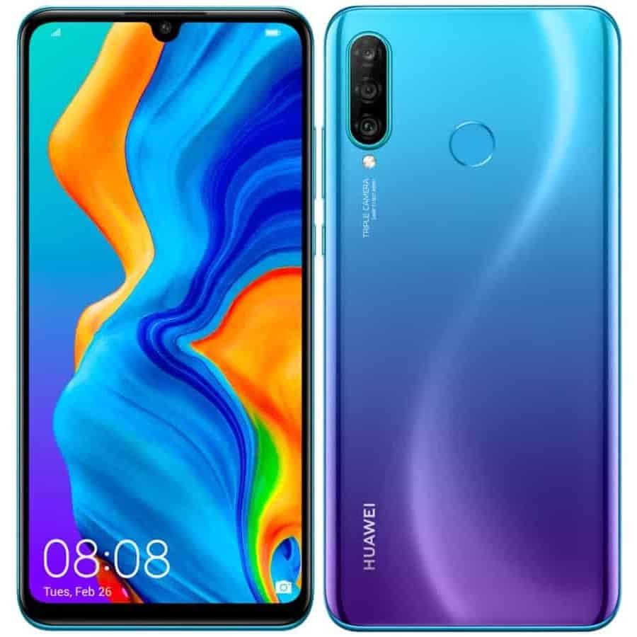 Huawei p30 lite peacockblue image