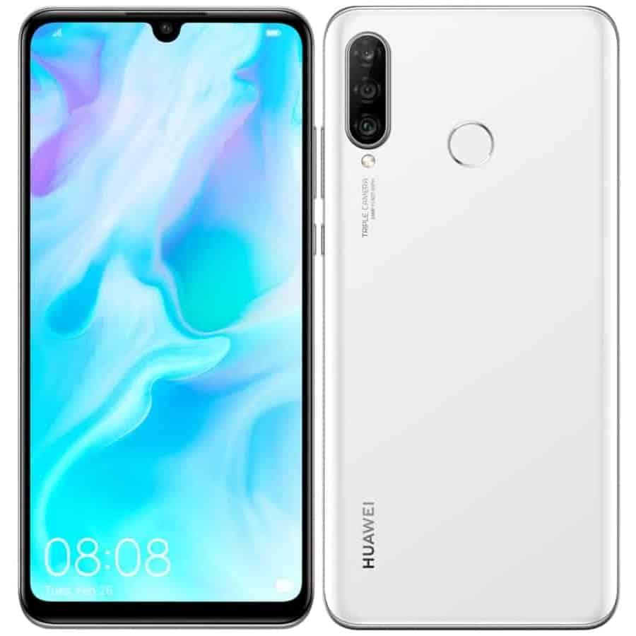Huawei p30 lite premium white image