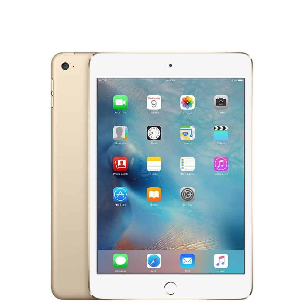 蘋果 iPad mini 4 金色 Wi-Fi 2015 圖片