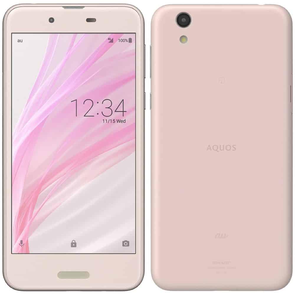 Sharp AQUOS Sense SHV40 Misty Pink Smartphone