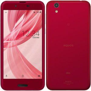 Sharp AQUOS Sense SHV40 Noble Red Smartphone