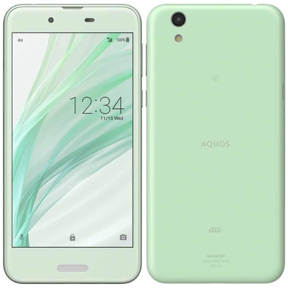 Sharp AQUOS Sense SHV40 Opan Green Smartphone