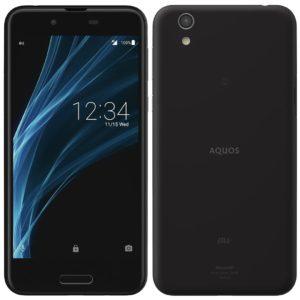 Sharp AQUOS Sense SHV40 Velvet Black Smartphone
