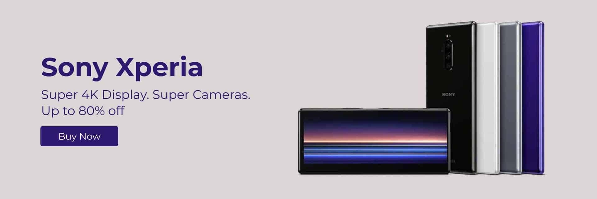Ola Tech Sony Mobile Super 4K Display Super Cameras 80% Off