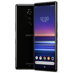 Sony Xperia 1 SOV 40 Black