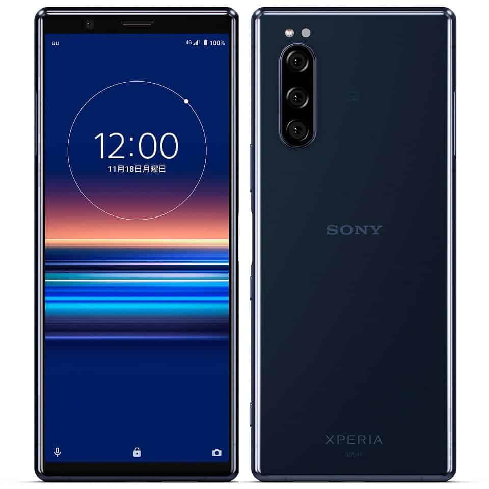 Sony Xperia 5 SOV 41 Blue
