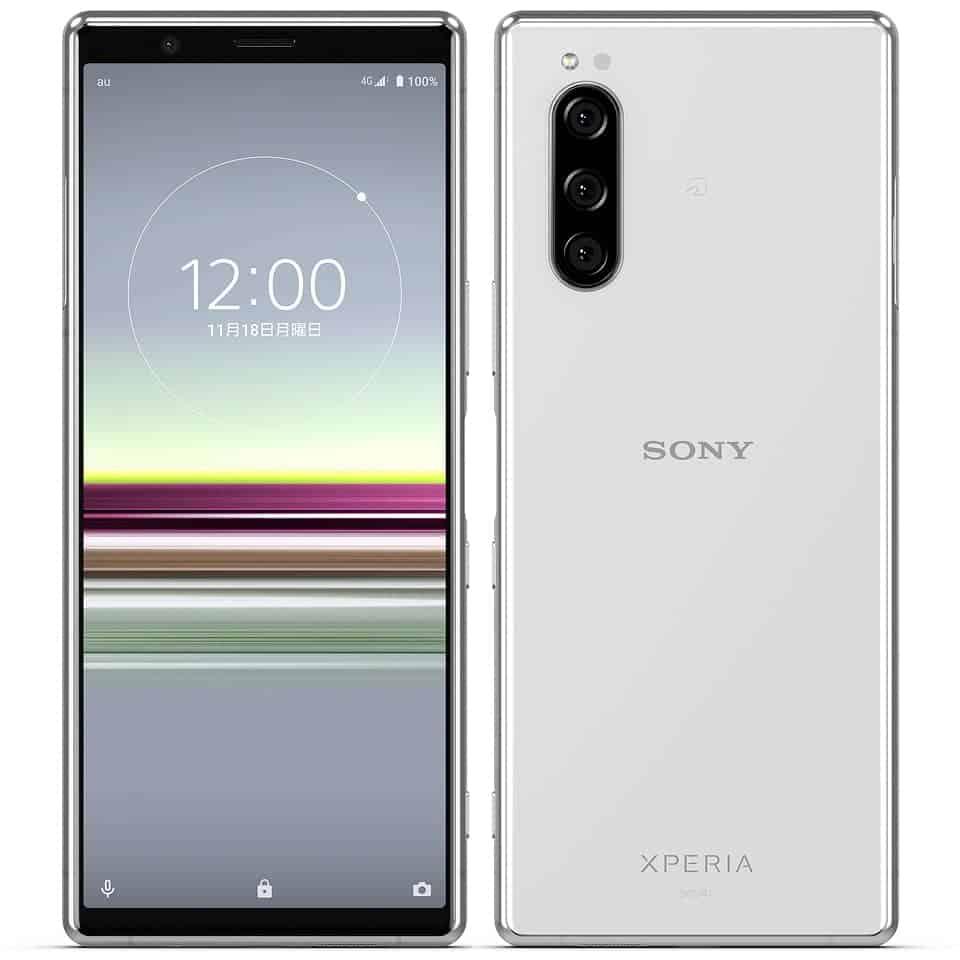 Sony Xperia 5 SOV 41 Gray