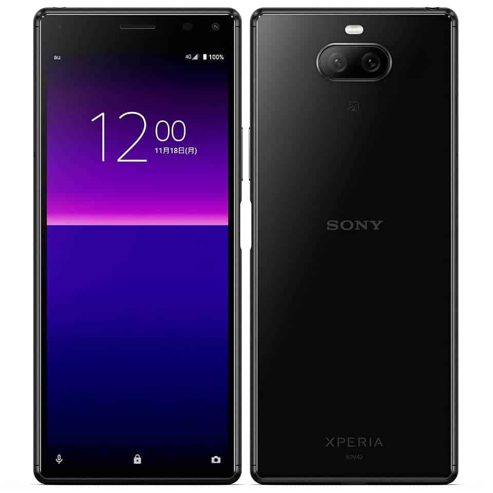 索尼 Sony Xperia 8 SOV 42 黑色