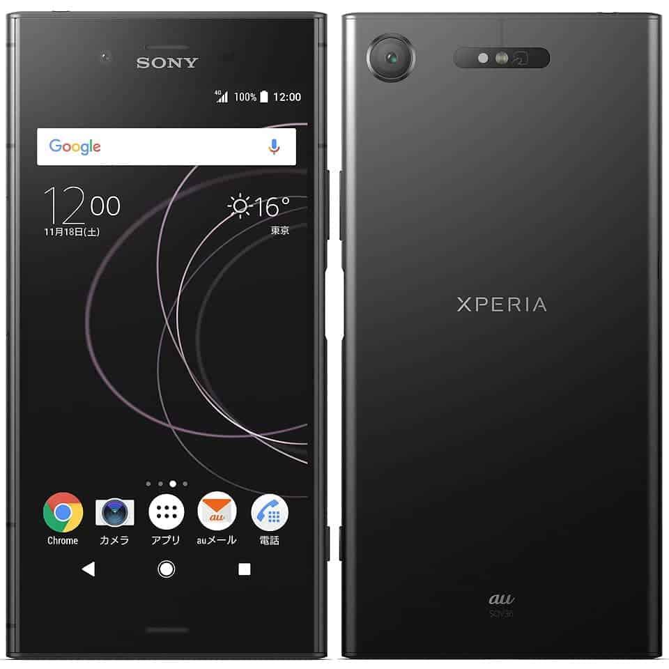 Sony Xperia XZ1 SOV 36 黑色