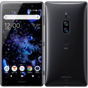 Sony Xperia XZ2 Premium SOV38 亮黑色